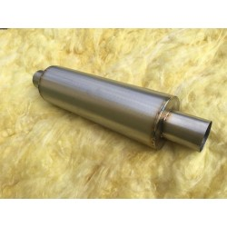 "PROFIDIESEL SUPER FLOW 63MM (2.5"") STAINLESS STEEL MUFFLER"