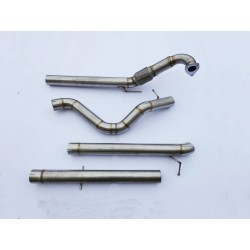 Profidiesel 3 inch (76mm) MK4 Turbo back Exhaust
