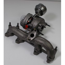PD130 1.9TDI KKK Turbocharger BV39b