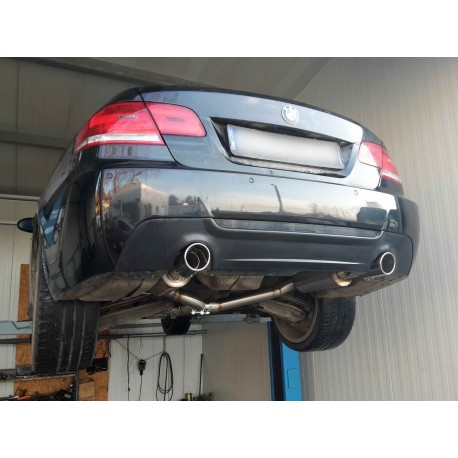 "Profidiesel 3"" 76mm Turbo Back Performance Exhaust BMW 335d E90 E91 E92 E93"